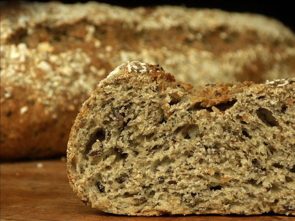 Tosta de pan integral