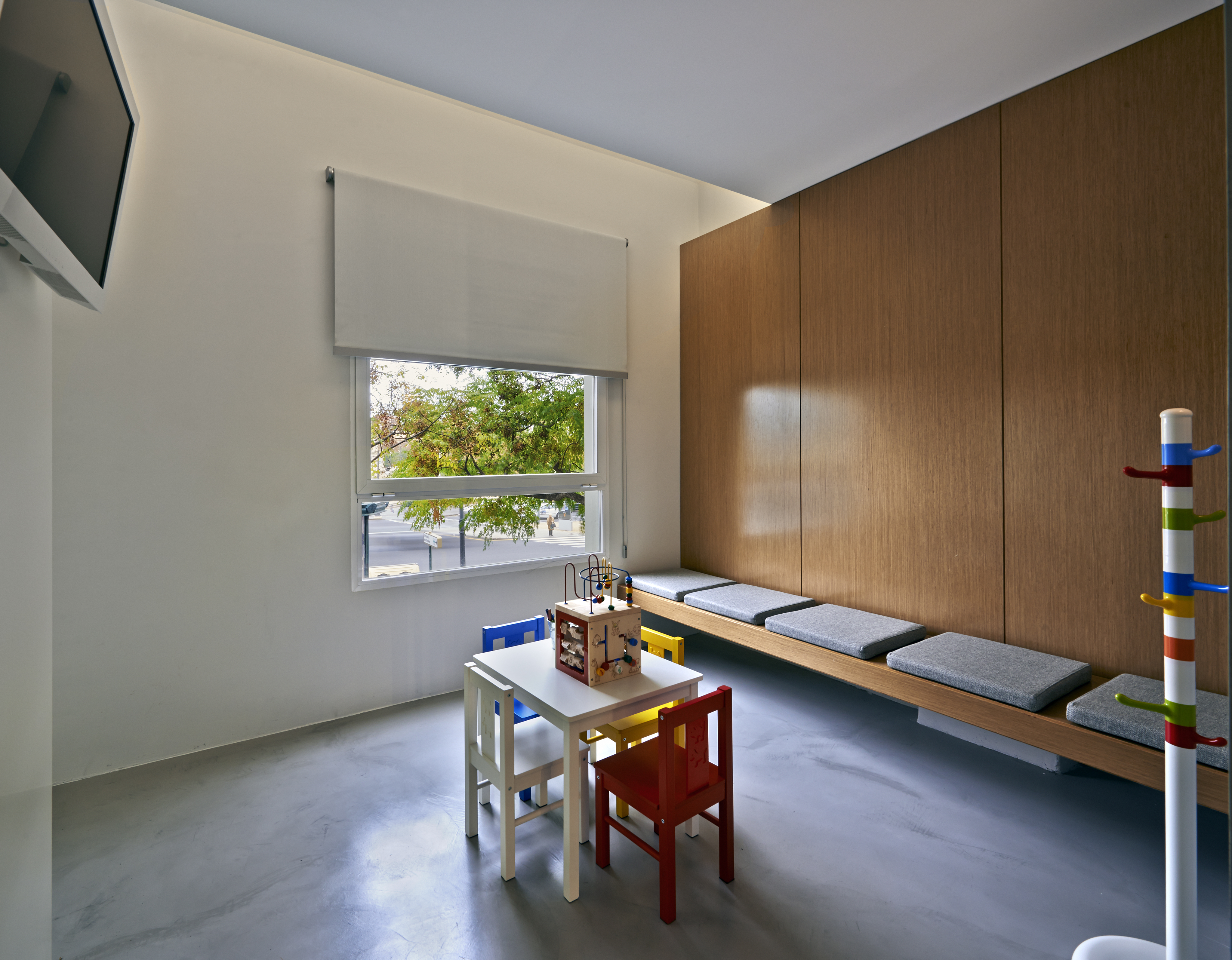 Sala de espera pediátrica